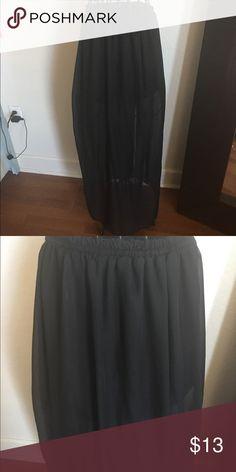 Black Maxi Skirt Black Maxi Skirt Skirts Maxi