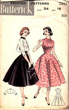 Etsy listing: Butterick 7243