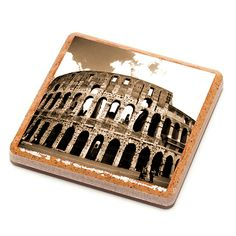 Colosseum - Rome Stone Drink Coaster