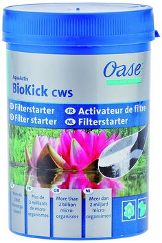 Oase AquaActiv BioKick Pond Filter Starter Bacteria, 200 ml