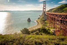 Golden Gate Bridge by francis_amaro #sanfrancisco #sf #bayarea #alwayssf #goldengatebridge #goldengate #alcatraz #california