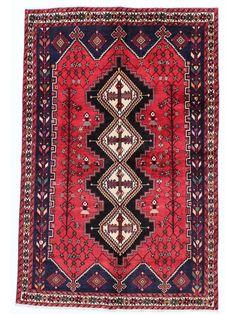 Tapis persans - Afshar  Dimensions:245x165cm