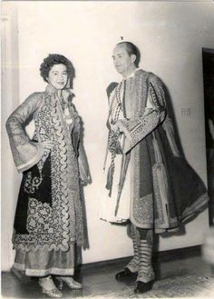 King Paul and Queen Frederica of Greece
