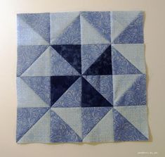 Free Quilt Pattern: February Color Challenge Block