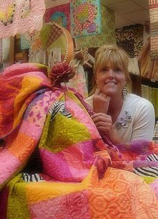 Fiberworks Quilt Store in Billings, MT.  Owner Laura Heine is SO talented. A quilt store celebrating creative inspiration.