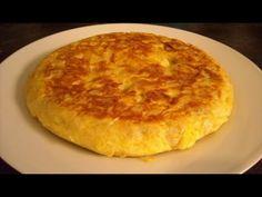 Tortilla de Jamon Y queso / Tortilla espanola / tortilla cubana / Tortilla - YouTube