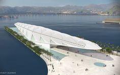 Museu do Amanhã, que está sendo construído na região portuária do Rio de Janeiro