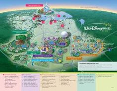 Walt Disney World Resort, Theme Parks, Transportation, Water Parks and Downtown Disney maps!  Great collection!