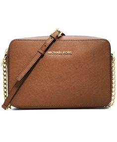 MICHAEL Michael Kors Jet Set Travel Large Crossbody - MICHAEL Michael Kors - Handbags & Accessories - Macy's