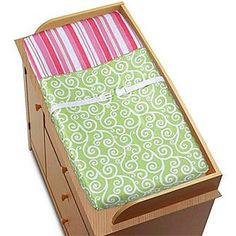 Sweet Jojo Designs -Olivia Collection Changing Pad Cover