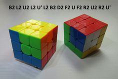 Patrones RUBIK 3x3 Figura N.10 por WL Rubik 3x3