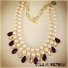 #necklace #victoria #fw14 #morninggloryshop