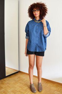 mercredie-blog-mode-chemise-denim-jean-collier-or-bling-stylenanda-coeur-dos-short-cuir-anniel-ersatz-leopard4