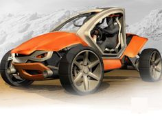 Neilpryde Off-Road Vehicle Gives Ultimate Driving Experience on Rough Surfaces