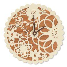 Bamboo Wall Clock, Kirie