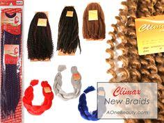 New Climax Braids! http://www.aonebeauty.com/braids/?sort=newest #braids #hairextensions #hair #hairstyles #beauty