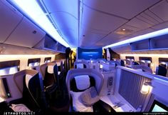 British Airways Boeing 777 first class