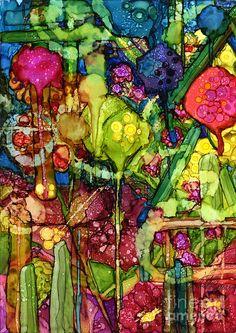 Number Viii Painting by Vicki Baun Barry