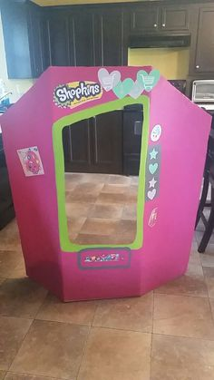 Shopkins Photo Prop