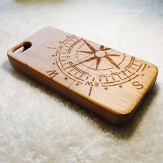 Cherry wood iphone 5c case. Custom order accepted.