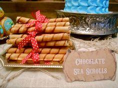 Shiver Me Timbers - Chocolate Sea Scrolls