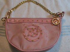 'Baby Phat Handbag Pink with gold trim CUTE' is going up for auction at  5pm Fri, Jun 7 with a starting bid of $8.