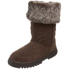 Rampage Frauen Stiefel Braun Groesse 6 US EU - Stiefel für frauen (*Partner-Link) Shearling Boots, Suede, Partner, Brown Boots, Ugg Boots, Uggs, Stuff To Buy, Shopping, Clothes