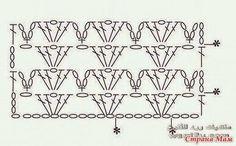Patrones de puntos para tejer vestido crochet de dama