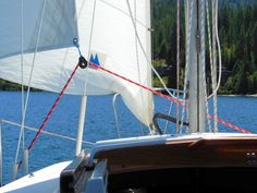 You may not have seen or even heard of a self-tacking jib before. They're usually only found on luxury sailboats. But that's exactly what it is, a headsail that sheets itself when you t…
