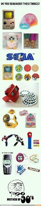 90's stuff!! I miss being a kid