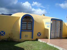 Concrete dome homes