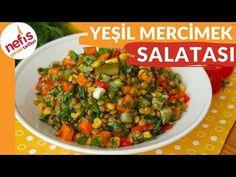 DENEMEYEN KALMASIN!! MUHTEŞEM Mercimek Salatası Tarifi - YouTube Salsa, Mexican, Meat, Chicken, Ethnic Recipes, Youtube, Food, Appetizers, Salads