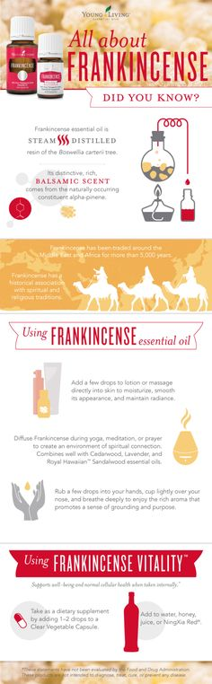 I love Frankincense! To be honest, when my Premium Starter Kit arrived and it included Frankincense, I didn't know what to do with it. I opened it and it smelled lovely, but I just didn't use it. www.EssentialOils4Sale.com