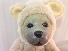 Jedy teddy bear 40 cm hard muzzle and soft body di DeedeeMagicWorld su Etsy