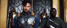 comicbookdaily:Michael B. Jordan as Erik Killmonger in Black...