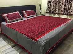 Handcrafted Rajasthani Print 100% Cotton Double Bed Sheet... http://www.amazon.in/dp/B01MZ22ZJ5/ref=cm_sw_r_pi_dp_x_rXLxyb0MM379C