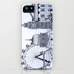 """""""You sound like you're from London"""" iPhone Case by Nicole Cioffe - $35.00."""