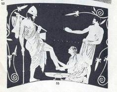 Öreg dajkája felismeri Odüsszeuszt