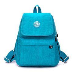 Rainbow Pony Preppy Women Backpack Waterproof Nylon Backpack Women'S Backpacks Casual Travel Bag Laptop Backpack Bolsa Sac Wh151