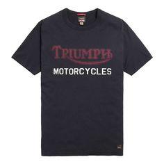 Triumph Suspension T Shirt - Black Triumph Motorcycle Clothing, Motorcycle Outfit, Triumph Motorcycles, Rags Clothing, Clothes, Casual T Shirts, Casual Wear, Paul's Boutique, Mens Tops