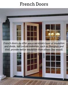 13c2be2f43cd French Doors. Add a dash of refinement to your house via indoor or exterior  french