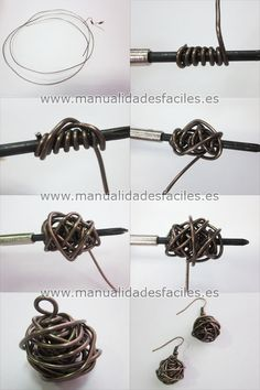 tuto boucles d'oreilles boule fournitures sur : http://www.rentreediscount.com/Activites-manuelles,57722.html