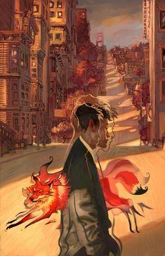 Nine Tailed Fox by *Jon-Foster on deviantART