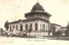 1901 - Jardim da Infância anexo a Escola Caetano de Campos na praça da República.