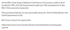 From a speech by David Mundell today:
