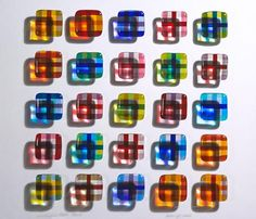 Fused Glass Squares