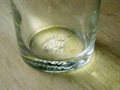 "DIY ""You Have Just Been Poisoned"" Pint Glass"