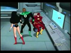 And what's wrong with the way I dress? Justice League