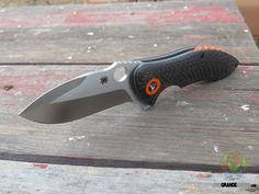 The Spyderco Rubicon folder is based on a custom knife design by knifemaker Peter Carey. The Rubicon knife is an exquisitely crafted Kit Carson-style Flipper built for serious performance. The broad CPM S30V blade has a high hollow grind for superior edge geometry and a prominent swedge to ensure an acute point. http://www.osograndeknives.com/catalog/knives/spyderco-c187cfp-rubicon-carbon-fiber-folding-knife-s30v-blade-25805.html
