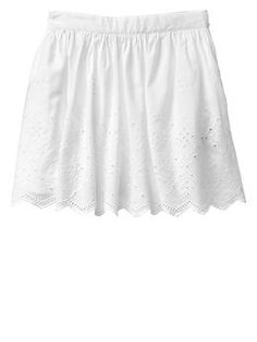 CHILDREN OPTION $23 Eyelet circle skirt
